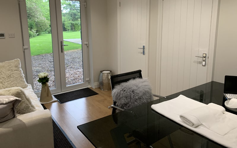 Salon Interior - Customer Seat - Janey Sharp Beauty